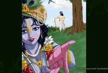 Art Work - Krishna / Amazing wallpapers of Krishna maid by ISKCON Desire Tree