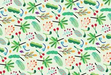 PATTERN COMPONENTI ILLUSTRATE 2016 / pattern grafici_pattern illustrati, soggetti piccoli ripetuti
