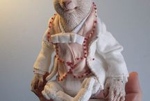 гномы, животные - куклы