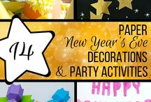 New Years Crafts / Ring in the new year in style with these easy crafts and decorations!