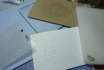 No lines embossing