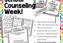 School counselor - National School Counseling Week / by Jessie Frizzell