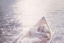 Море в утреннем свете