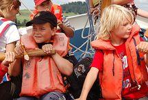 Familien & Kinder an Bord / … mit Mann und Maus an Bord volle Kraft voraus! Familientörns auf Sardinien, Mallorca, Korfu, Kvarner Bucht, Split, Zadar und der Cote d´Azur - sprechen Sie uns an!