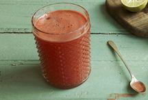 suco de morango cítrico