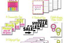 Garage Sale / planning our first ever garage sale