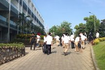 General Cleaning / We are getting ready to serve you! All employees do the general cleaning, sweeping out the project debris and make the hotel shines! #thesintesajimbaran #sintesahotels #jimbaran www.thesintesajimbaran.com