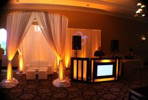 Holy Trinity Reception Round Chuppah Head Table Draping Canopy With Chandelier And Lounge  Furniture / This board showcases our elegant round chuppah that can be used for ceremony, sweetheart table, or lounge furniture with wireless led uplighting. If the wow factor is what you want, make your wedding pop with this fabulous piece