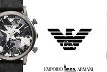 EMPORIO ARMANI WATCHES / Πάντα μπροστά και πάντα στη μόδα!