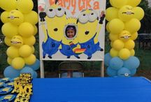 PARTY PLANNER - MINIONS / by Diane