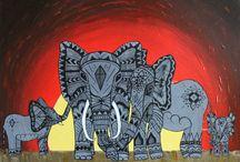 Elephants / Inspiration / by Susan Megran