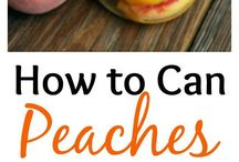 DIY Canning / Preserve the amazing flavors of summer by canning your excess produce instead of throwing it away!