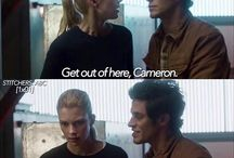 Cameron and Kirsten