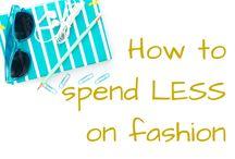 Saving money on fashion