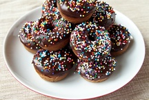 donuts / by The Little White Kitchen (Michele Bowman)