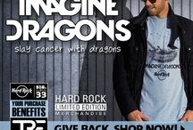 Imagine Dragons Signature Series 33 / We are honored to kick off 2015 with Imagine Dragons and The Tyler Robinson Foundation on Signature Series 33 limited edition merchandise! The Tyler Robinson Foundation was started by Imagine Dragons and the Robinson Family to battle the unseen costs of childhood cancer and you could help #slaycancerwithdragons. Give Back & Shop now. http://hardrock.co/1Ix2yLr