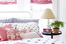 Gingham and polka dots / by Bronwyn Hayes designer for Red Brolly