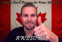 Stephen Amell/Arrow / Arrow and Stephen Amell