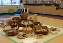 Choosing Materials / Rethinking how we use stuff: loose parts materials, found objects, recycled, upcycled, sustainable, bits & pieces. Our goal is to challenge our thinking about ownership and the materiality of our world.