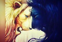 Lion/Big Cat designs