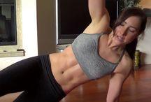 Para mantenerse en forma / by Kika Rocha