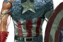 Super helden/schurken / Dit zijn wat helden en schurken van Marvel en Dc.
