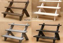 drevené stojany