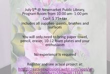 One Stroke Painting / One Stroke Painting classes http://creativeexplosions.webs.com/