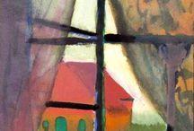 Paul Klee inspired / Inspiration for vitreous enamelling