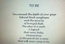 Essere ( English version) / Poesia