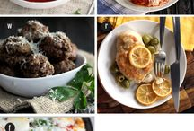"Best Menu Plans / Forget that nagging, ""What's for dinner?"" question!  The best of the best food bloggers have you covered! / by Melanie Makes"