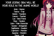 anime horoscope