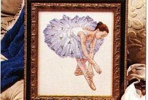 cross stitch ballet
