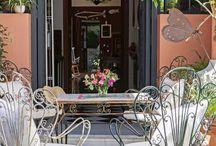 Sillas de jardín de hierro vintage