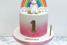 Fizzy's birthday cake