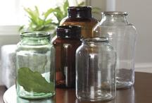 bottles,jars,teapots