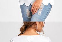 Blouse: Back Details