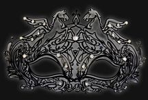 Luxury Metal Venetian Masks