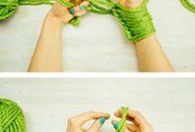 arm knitinig