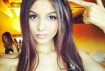 ❤VICTORIA JUSTICE❤ / Victoria Dawn Justice (born February 19, 1993) is an American actress and singer. In 2003, she began an acting career, appearing in films, television shows and commercials. She rose to fame on Nickelodeon, starring as Lola Martinez in the television series, Zoey 101 (2005-2008), and Tori Vega in the sitcom, Victorious (2010-2013). She starred in the films The Boy Who Cried Werewolf (2010), Fun Size (2012), The First Time (2012) and Naomi and Ely's No Kiss List (2015).