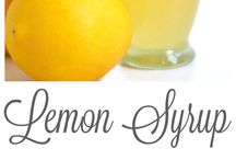 Lemons / Got to find ways to use all my lemons and that even after all the bags full we give away
