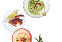 Veggies, salads, dips