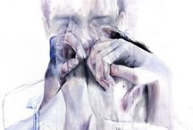 Art / Some watercolour art work, also artwork of any type