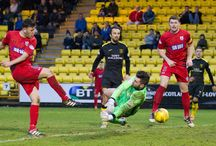 Livingston 24 Dec 2016 / Pictures from the SPFL League One game between Livingston and Queen's Park. Match played at the Tony Macaroni Arena on Saturday 24 December 2016. Queen's Park won the game 2-1.