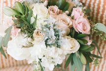 Rebecca & Gareth / September 2014 pale blushes, soft creams and shell pinks. Bridesmaids will be wearing pale shell pink.