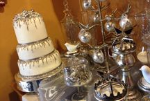 Winter Weddings by The SweetSpot Bakehouse / Some of our custom made winter wedding cakes.