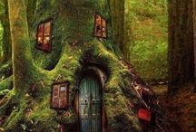 Tree and Fairy Houses / by Janis Malerich
