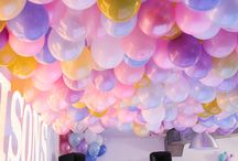 We like to party / Celebration decor ideas