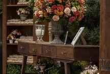 rustico casamento decoração