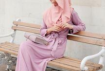 fashion - hijab casual dress